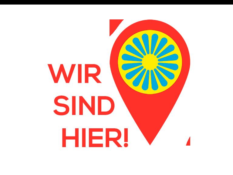 WIR SIND HIER Logo